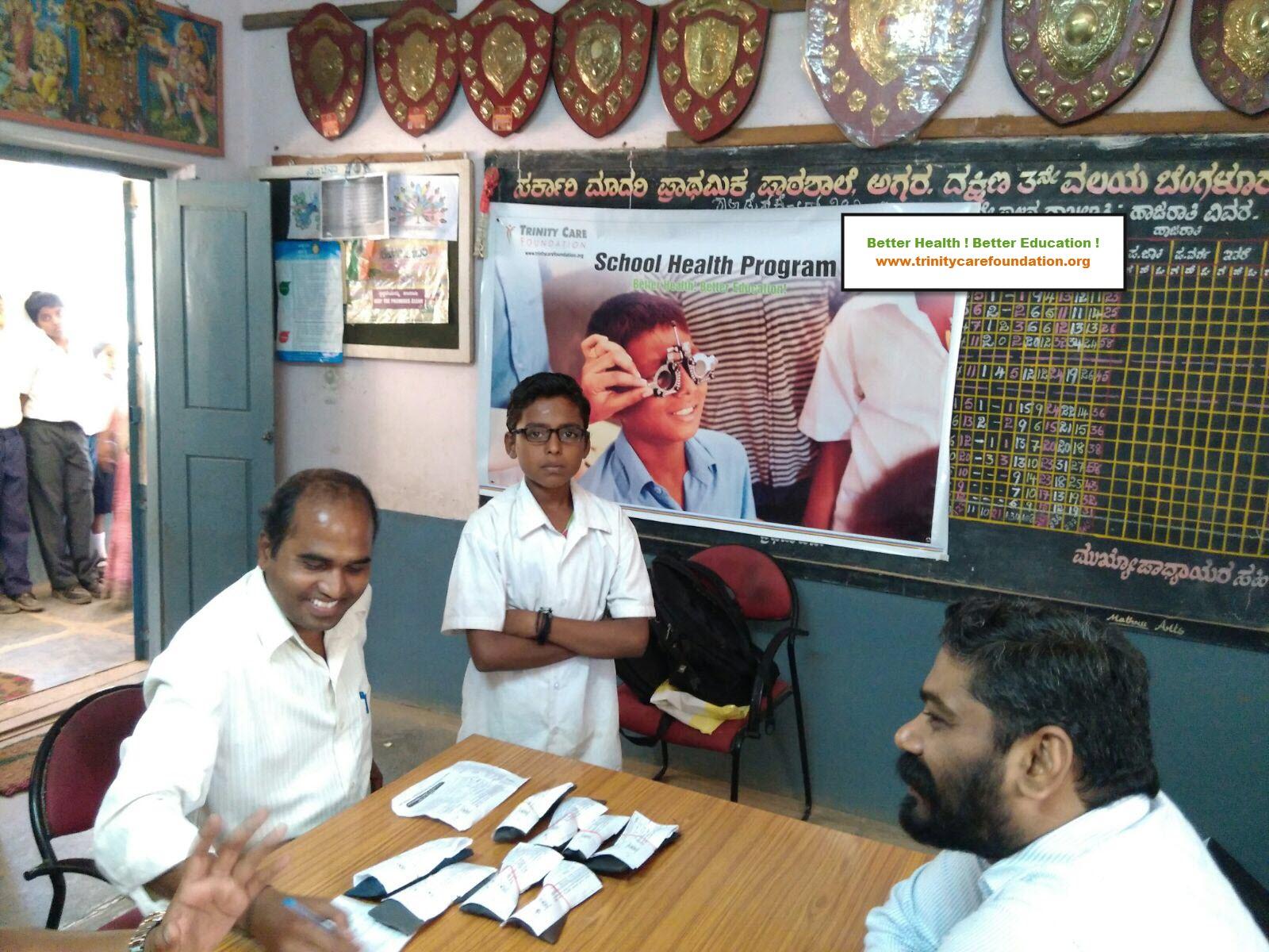 Refractive errors bangalore schools