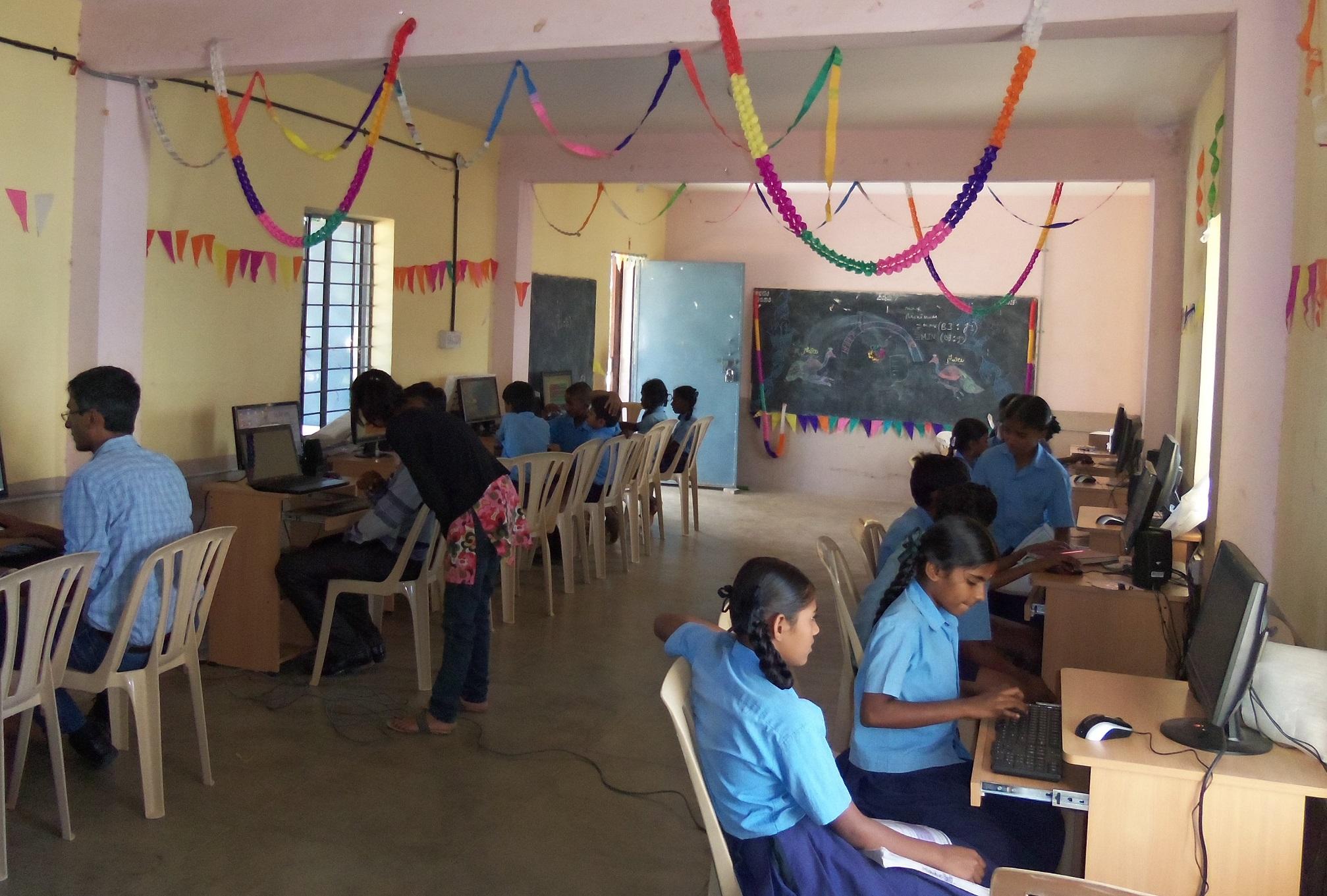 Computer Lab CSR Project