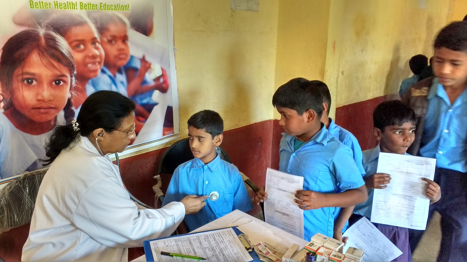 School health project bangalore